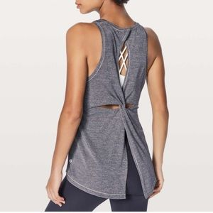 Lululemon hold and let flow tank